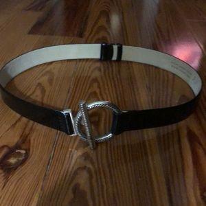 Anne Kleine leather belt